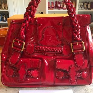 Red Valentino Shopper bag in patent leather